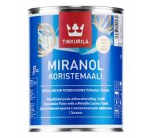 Миранол серебро декоративная краска  (1л)